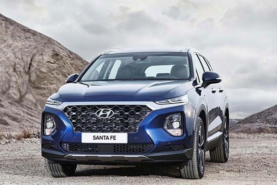 Hyundai Santa Fe 2020 động cơ GDI 2.4L thừa kế nhiều tính năng của Palisade