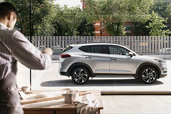 Đây là hình ảnh Hyundai Tucson 2020 thế hệ mới, khá chi tiết