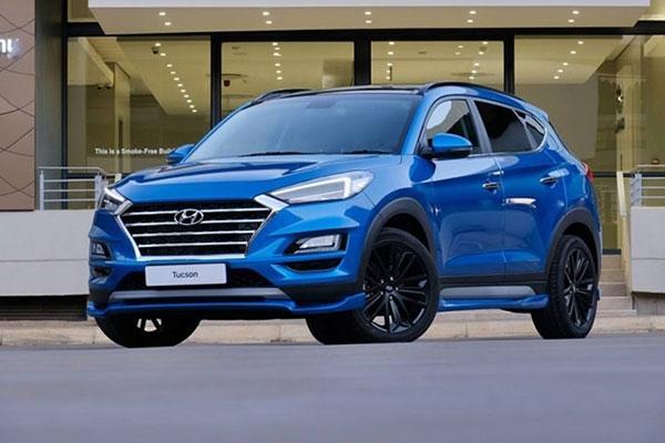 Hyundai Tucson Sport sở hữu sức mạnh lên đến hơn 200 mã lực